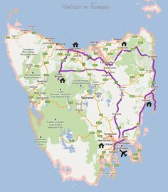Tasmania Road Trip, Australia Map, Blog Voyage, The Good Place, Amazing Places, Road Trips, Bucket, Country, Frases
