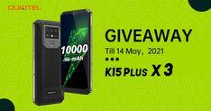 Sorteio Smartphone OUKITEL K15 Plus Smartphone, Hardware, Giveaway, Prize Draw, Accessories, Computer Hardware