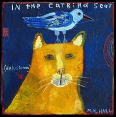 "Santa Fe Artist Melinda Hall ""In the Catbird Seat"""