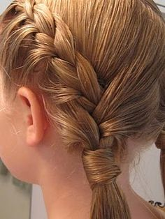 braids...so pretty!  i need to learn how to do stuff like this...