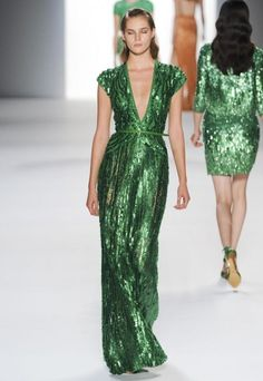 Jackie.... can we sit around wearing Elie Saab dresses drinking holiday drinks soon? Reply via. pin required.