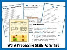 Microsoft Word & Keyboard Worksheets Bundle – Updated 2018 Teaching Science, Teaching Resources, Teaching Ideas, Keyboard Lessons, Interactive Board, Coding For Kids, Piano Lessons, Microsoft Word, Computer Science