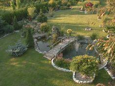 Backyard Water Feature, Ponds Backyard, Garden Ponds, Garden Pond Design, Landscape Design, Rustic Gardens, Outdoor Gardens, Zen Gardens, Pond Landscaping
