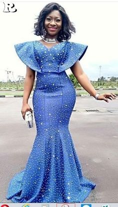 Look Stunning, Slinky & Hot With The Latest Kente Styles Latest African Fashion Dresses, African Dresses For Women, African Print Fashion, Africa Fashion, African Attire, African Prints, African Women, Stil Inspiration, African Lace Styles