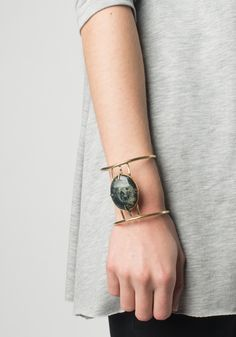 Galaxy Stone Egyptian Cuff by Ida James | Bohem