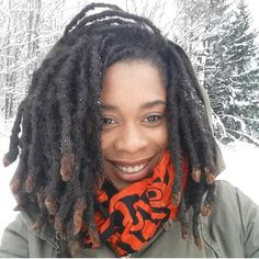 I love the thickness Dreadlock Hairstyles, Cool Hairstyles, Natural Hair Care, Natural Hair Styles, Natural Hair Inspiration, Dream Hair, Textured Hair, Hair Goals, Afro