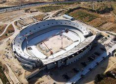 Club Atlético de Madrid - El nuevo estadio desde el aire