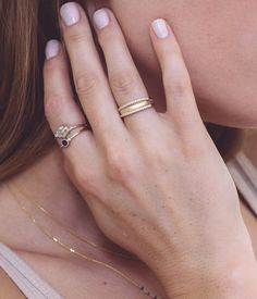 Double Band Ring - Audry Rose
