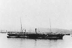 El Rímac. Buque militar que participó en la Guerra del Pacífico, primero con la Armada de Chile y luego por la Armada del Perú. Fue construido por R. & J. Evans & Co. Liverpool para la CSAV. Su casco (Nº 54) era de hierro y su propulsión a hélice.   Fue artillado con 4 viejos cañones de alma lisa que originalmente había pertenecido a la corbeta Esmeralda, cuyo alcance máximo era de solo 810 metros. Luego, en setiembre de 1879 y bajo el servicio de Perú, se le agregaron cañones más modernos.