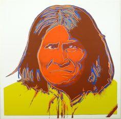 Andy Warhol (American, 1928–1987) Cowboys and Indians: Geronimo, 1986