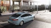 The 2013 Ford Fusion SE Hybrid shown in Ice Storm Metallic. 2013 Ford Fusion, Ice Storm, Gallery, Metallic, Motivation, Photos, Pictures, Determination, Inspiration