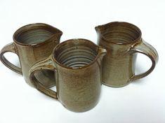 handmade creamer milk jar pitcher maple syrup by altheaspottery
