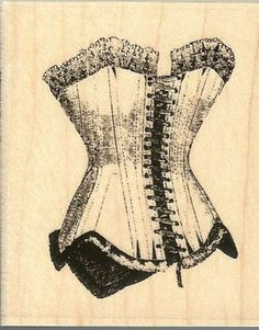 I seem ti gravitate to the corset type designs Hampton Art, Lingerie Party, Wood Stamp, Artist Trading Cards, Arts And Crafts Supplies, Vintage Flowers, I Card, Diffuser, Sewing Crafts