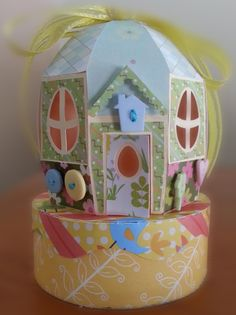 Egghouse from svg cuts made by me!