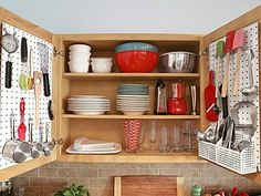 Small kitchen and a lot of things to store? Never fear! We have some brilliant ideas that will help you make the most of storage in your tiny kitchen.