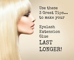 How to increase the life of your Eyelash Extension Glue!  Read this article to learn how!