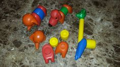 Vintage animals tupperware for parts by TupperwareSource on Etsy