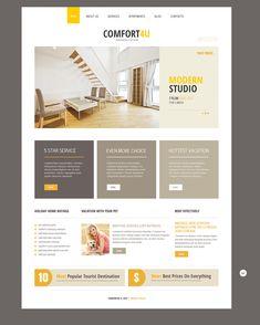 Joomla Theme for Square Real Estate Website Design Websites, Web Design Tips, Real Estate Website Templates, Real Estate Website Design, Real Estate Websites, Real Estate Ads, Real Estate Site, Layout Design, Website Design Layout