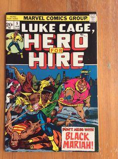 Luke Cage, Hero for Hire Vol 1 #5