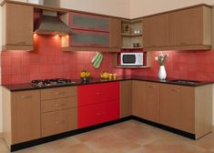 Modular Kitchen Cabinets Manufacturers in Delhi India. AVEC BOIS a well known Modular Kitchen Cabinet suppliers wholesaler. Each of our Modular Kitchen Cabinets is unique and specially designed for you. New Kitchen Designs, Kitchen Room Design, Kitchen Layout, Interior Design Kitchen, Modern Interior, Moduler Kitchen, Kitchen Modular, Kitchen Decor, Smart Kitchen