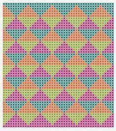 Risultati immagini per crochet pattern wayuu bag Bag Crochet, Crochet Purses, Crochet Chart, Filet Crochet, Tapestry Crochet Patterns, Crochet Stitches Patterns, Stitch Patterns, Knitting Patterns, Knooking