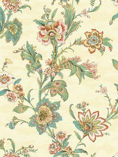 Wallquest - Jaima Brown - Notting Hill - Page 64 - Kent - Damask Wallpaper, Wallpaper Online, Love Wallpaper, Designer Wallpaper, Notting Hill, Application Pattern, Indigo Prints, Floral Prints, Decorative Panels