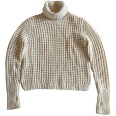 f52ebe7b41b Pre-owned Fendi Cashmere Jumper ( 676) ❤ liked on Polyvore featuring tops