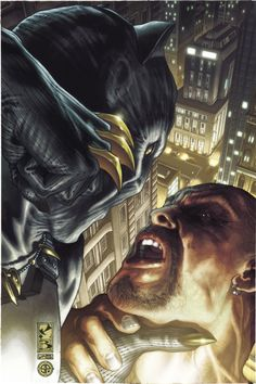 Black Panther: The Man Without Fear Cover: Black Panther Fighting by Simone Bianchi Marvel Comics Poster - 61 x 91 cm Black Panther Marvel, Black Panther Storm, Marvel Comic Character, Comic Book Characters, Comic Book Heroes, Comic Books Art, Comic Art, Marvel Dc Comics, Marvel Heroes