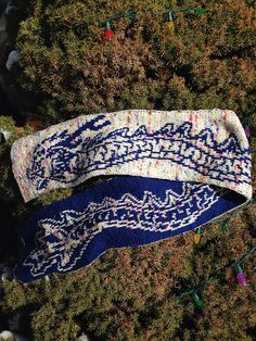 Ravelry: Chinese Dragon Scarf MKAL pattern by Tania Richter
