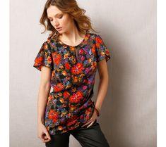 Jednofarebná blúzka so zlatými lemami Button Down Shirt, Men Casual, Glamour, V Neck, Mens Tops, Shirts, Women, Fashion, Tunic