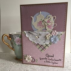17 Best images about Cards: Coffee, Tea or Cake on Pinterest ...