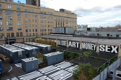 Barbara Kruger's 'Whitney on-site'