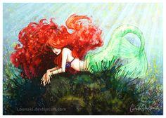 Ariel by loonaki - walt-disney-characters Fan Art
