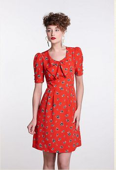 Style: Eleven Gorgeous Frocks To Covet  Floradot Dress - Anthropologie.com