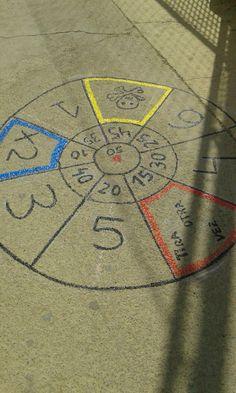 Tira el trompo ( por ejemplo) y consigue puntos jugando! Proyecto Alegra tu patio. Primaria