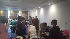 Sesionando curso de Barra de Postres Queretaro G12