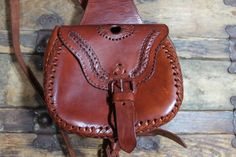 80s Leather Satchel Backpack Purse Tote Cross Body by ScarletFury, $62.00