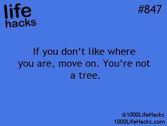 If you don't like where you are, move on. You're not a tree. [Good advice. Also, be sure to save up some money so that when you want or need to move on, you can.]