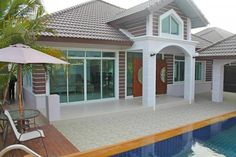 Beautiful house for rent on Pattaya Thailand  http://www.towncountryproperty.com/houses/bang-saray-house-20004.html