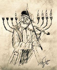 Richard Weisberg Arte Judaica, Jewish Celebrations, Jack Frost And Elsa, Learn Hebrew, Biblical Art, Jewish Art, Beautiful Paintings, Art Sketches, Photo Art