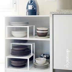 Una excelente solución para superficies desperdiciadas, donde no se puede hacer un armario estándar.