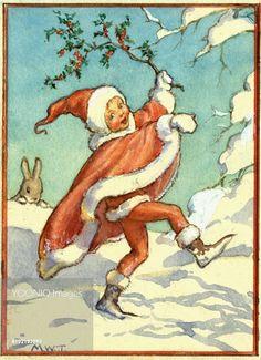 'Snow Sprite'  Christmas card.