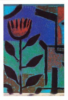 Paul Klee (1879-1940) In 1906 trouwde Paul Klee met Lily Stumpf, pianiste. In 1907 kregen zij een zoon, Felix, die voornamelijk door zijn vader werd verzorgd en opgevoed. Klee hoefde in de Eerste Wereldoorlog niet naar het front, zoals Franz Marc die daar sneuvelde. In dienst beschilderde Paul Klee vliegtuigen. In die tijd kreeg hij ook steeds meer succes met zijn kunst.