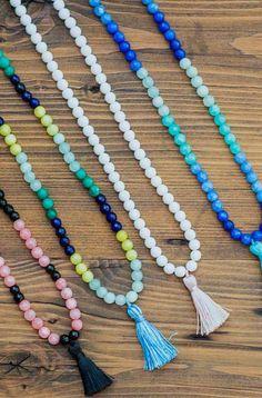 Mala Beads Necklaces | Pura Vida
