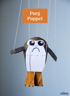Bring Porgs into Your Home With This DIY Puppet Craft