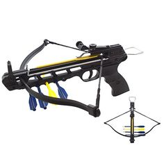 50lbs Aluminum Handheld Pistol Crossbow with Integrated A... https://www.amazon.com/dp/B00O37EO1M/ref=cm_sw_r_pi_dp_x_KzNaybVR0ENPC