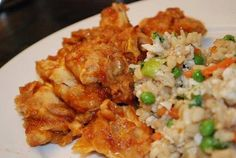 WEIGHT WATCHERS BAKED SWEET AND SOUR CHICKEN.  8 PTS