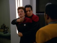 Seven of Nine and Chakotay | home star trek voyager chakotay chakotay