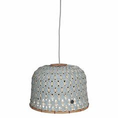 Handed By Bamboolastic Hanglamp - Groen 59,95