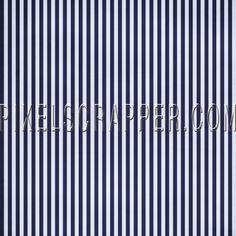 Stripes 54 Paper - Blue & White by Marisa Lerin | Pixel Scrapper digital scrapbooking*